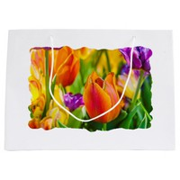 Tulips Enchanting Large Gift Bag