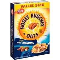 Walmart: Post Honey Bunches of Oats With Crispy Almonds Cereal, 27 oz
