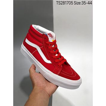 Vans SK8 Mid cheap fashion Mens and womens sports shoes