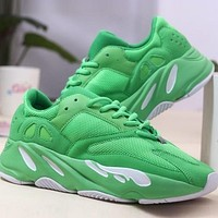 Adidas Yeezy Boost 700 Men's and Women's Sneakers Shoes Green