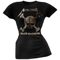 Metallica - Skull Mosaic Juniors T-Shirt