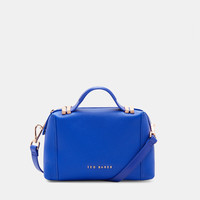 Pop handle small tote bag - Mid Blue | Bags | Netherlands Site