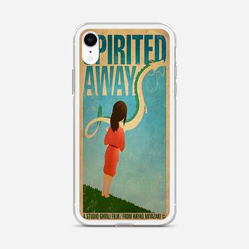 Spirited Away Poster iPhone XR Case