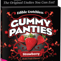 Edible Crotchless Gummy Panty