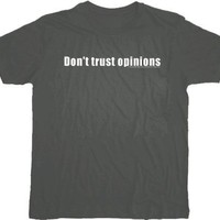 House M.D. Don't Trust Opinions Charcoal T-shirt  - House -   TV Store Online