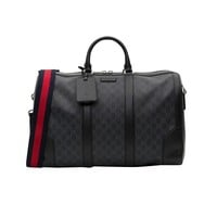 Monogram Carry-On Duffle Bag by Gucci