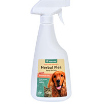 Naturvet Flea Spray For Pets - Dogs And Cats - 16 Oz