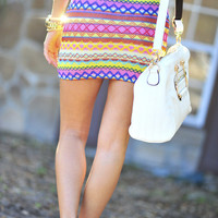 Born To Be Bright Skirt: Multi | Hope's