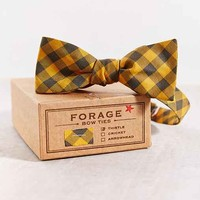 FORAGE Haberdashery Deadstock Checkered Bow Tie - Assorted One