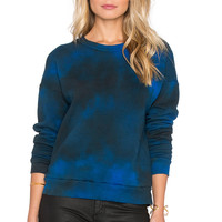 LACAUSA Vintage Sweatshirt in Angel Wash Velvet