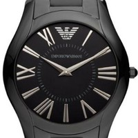 Emporio Armani Super Slim Black Mens Watch AR2065