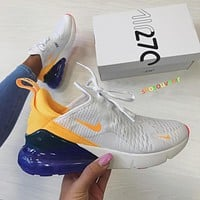 Nike Air Max 270 men and women The air cushion shoes-41