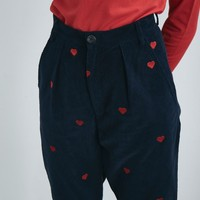 Lazy Oaf Heart Emb Cord Pants - View all - New In - Womens