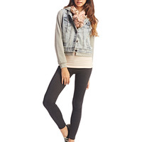 Heathered Ankle Legging | Wet Seal