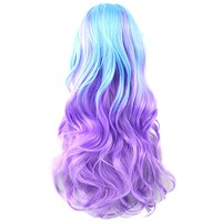 Alexa Women Wavy Long Cosplay WIg