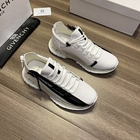 GIVENCHY Men Fashion Boots fashionable Casual leather Breathable Sneakers Running Shoes06200qh