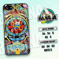 Adventure Time, Finn and Jake, iPhone 5 case, iPhone 5C Case, iPhone 5S case, Phone case, iPhone 4 Case, iPhone 4S Case, Phone Skin, AT02