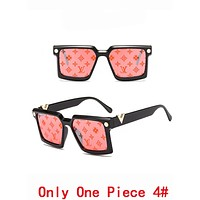 LV Louis Vuitton Summer Newest Popular Women Men Cool Shades Eyeglasses Glasses Sunglasses 4#