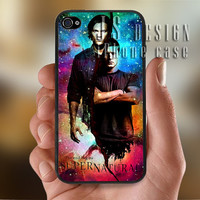 Supernatural Galaxy Nebula  - Photo Print for iPhone 4/4s Case or iPhone 5 Case - Black or White
