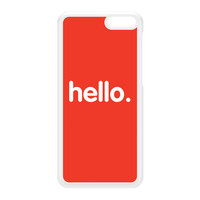 Hello White Hard Plastic Case for Amazon Fire Phone by textGuy