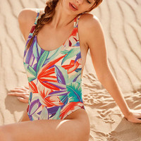 Out From Under Baywatch One-Piece Swimsuit - Urban Outfitters
