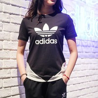adidas Originals Womens Colorado T-Shirt - Black