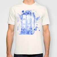 Time and Relative Dimension in Space (Doctor Who) T-shirt by Caitlin Victoria Parker