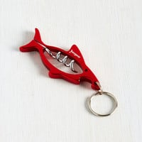 Travel Shark My Words Corkscrew and Bottle Opener by ModCloth