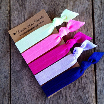 The Amber Hair Tie Ponytail Holder Collection