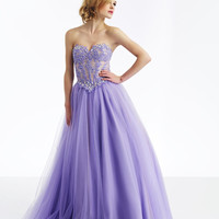 dress stamp Picture - More Detailed Picture about Hot selling new 2014 custom made modern ball gown sleeveless purple tulle prom dress with beading bridesmaid dress Picture in Prom Dresses from readdress