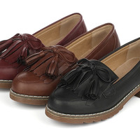 Womens Classy Slip-On Casual Shoe Loafers