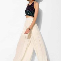 Ecote Pleated Wide-Leg Pant-