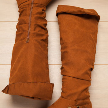 Take You There Chestnut Boot