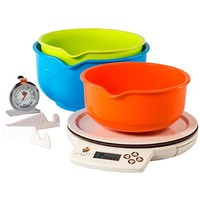 Perfect Bake 1.0 Smart Scale and Recipe App Kitchen Tool, White (Discontinued by Manufacturer)