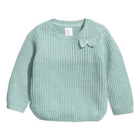 H&M Rib-knit Sweater $17.99