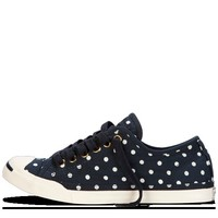 Converse - Jack Purcell Polka Dot Low Profile - Slip - Navy/White