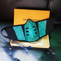 Onewel LV Mask Louis Vuitton Breathable Cotton Internal Mask Green