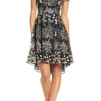 Adrianna Papell Ethereal Fit & Flare Dress (Regular & Petite) | Nordstrom