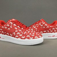 Women's and men's nike air force 1 QS cheap nike shoes 072