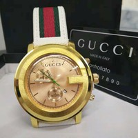Gucci Fashion New Quartz Women Men Watches Wrist Business Casual Watch 45MM