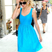 Turquoise Taylor Dress