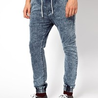River Island Jogger Jeans in Skinny Fit