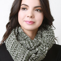 Weft Double Knit Scarf