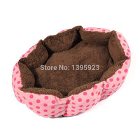 Promotion Pet Products Soft Material Dog Mat Pet House Cats Warming Puppy Sleeping Nest 5 Colors Pets Bed Kennels