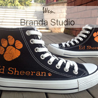ED Sheeran Shoes KIds Studio Hand Painted Shoes 45.99Usd,Paint On Custom Converse Shoes Only 85Usd,Buy One Get One IPhone Case Free