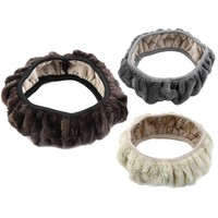 New Arrival Winter Steering Wheel Cover Artificial Wool Heated Steering Wheel Cover Winter Plush Steering Wheel Cover
