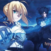 Great Eastern Entertainment Fate/Zero Kiritsugu and Saber Wall Scroll, 33 by 44-Inch