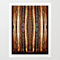 Trees Art Print by Needham Design