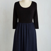 Mid-length 3 A-line Model of Modest Dress
