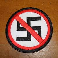 Anti-Nazi Patch: 3 inches